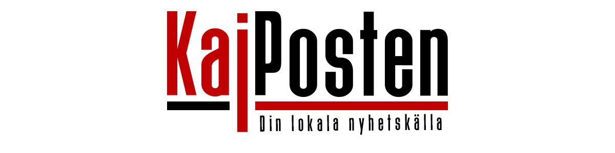 Vår svartröda logga Kajposten-Din lokala nyhetskälla