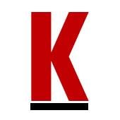 Vår logga-Bokstaven K