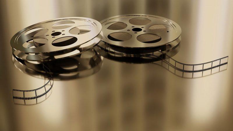 Bild på filmrullar