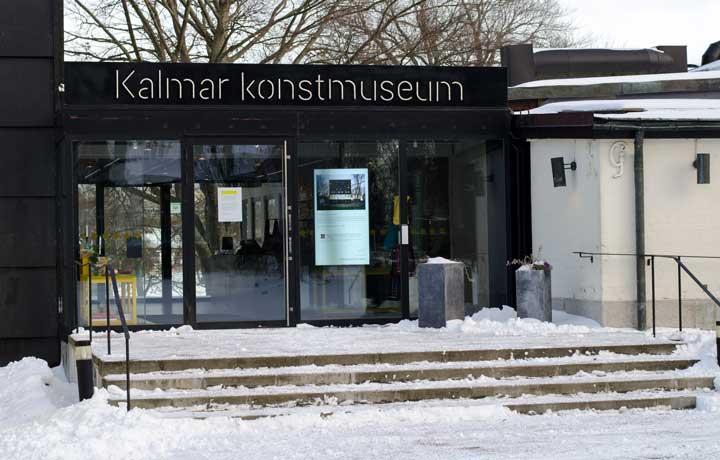 byggnaden på kalmar konstmuseum